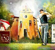 Golf In Club Fontana In Austria 01 by Goodaboom