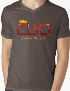 """Embrace The Land"" ROYAL TEE - CLVD® Mens V-Neck T-Shirt"