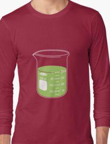 beaker elixir (lime) Long Sleeve T-Shirt