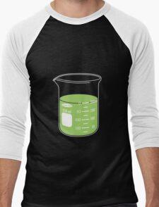 beaker elixir (lime) Men's Baseball ¾ T-Shirt