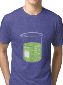 beaker elixir (lime) Tri-blend T-Shirt