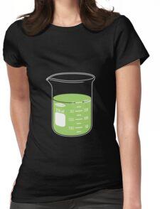 beaker elixir (lime) Womens Fitted T-Shirt