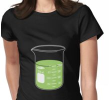 beaker elixir (lime) Womens Fitted T-Shirt