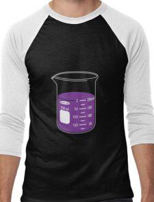 beaker elixir (grape) Men's Baseball ¾ T-Shirt