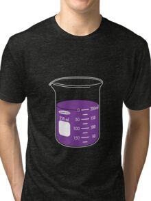 beaker elixir (grape) Tri-blend T-Shirt