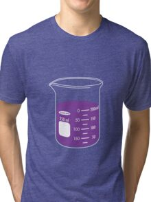 beaker elixir (grape) Tri-blend T-Shirt