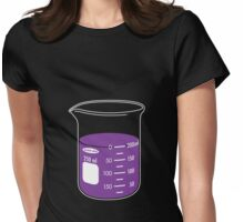 beaker elixir (grape) Womens Fitted T-Shirt