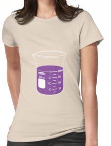 beaker elixir (grape) Womens Fitted T-Shirt