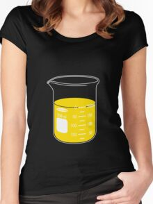 beaker elixir (lemon) Women's Fitted Scoop T-Shirt