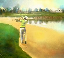 Golf In Club Fontana In Austria 02 by Goodaboom