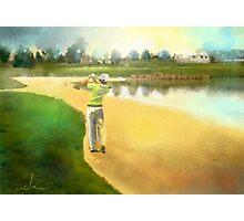 Golf In Club Fontana In Austria 02 Photographic Print