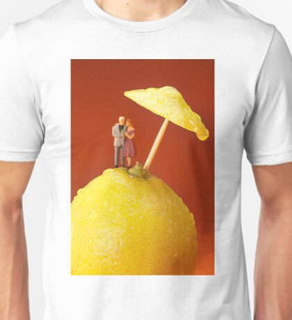 A Couple In Lemon Rain Unisex T-Shirt