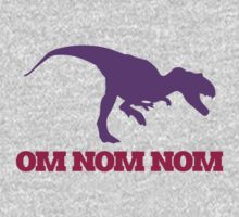 OMNOM dinosaur One Piece - Short Sleeve
