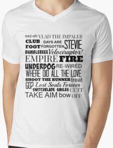 Kasabian Songs  Mens V-Neck T-Shirt