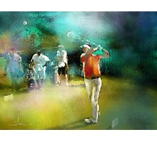 Golf In Club Fontana In Austria 03 Photographic Print