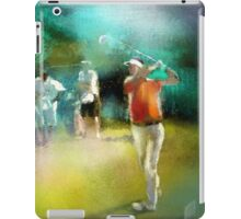 Golf In Club Fontana In Austria 03 iPad Case/Skin