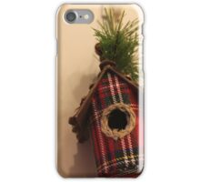 Red little home iPhone Case/Skin