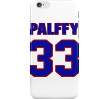 National Hockey player Ziggy Palffy jersey 33 iPhone Case/Skin
