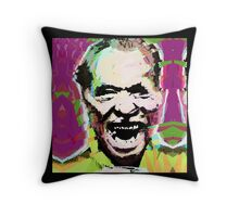 Charles Bukowski. The Wooden Butterfly. Throw Pillow