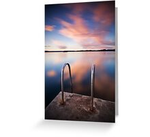 Blue Skies Forever Greeting Card