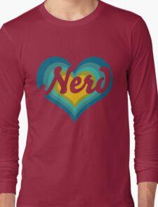 Retro NERD Long Sleeve T-Shirt