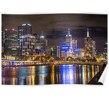 Melbourne City Poster