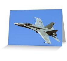 CF-18 Greeting Card