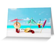 The Red, the Hot, the Chili in Acapulco Greeting Card