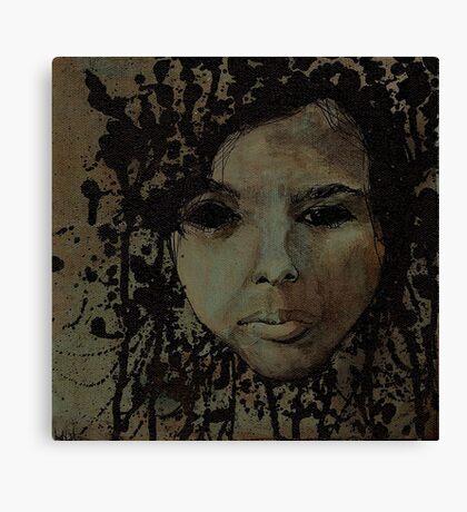 blank intention Canvas Print