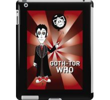 GOTH TENTH DR WHO iPad Case/Skin