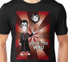GOTH TENTH DR WHO Unisex T-Shirt