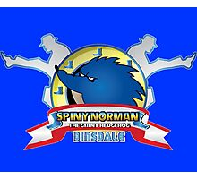 Spiny Norman Photographic Print