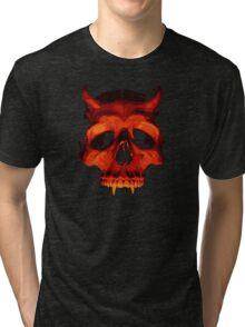 Devil Skull Tri-blend T-Shirt