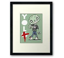 You Only Live Twice! Framed Print