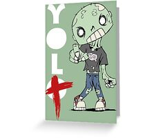 You Only Live Twice! Greeting Card