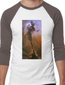 The Eage Nebula - Messier 16 Men's Baseball ¾ T-Shirt