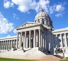 Missouri Capitol Building by Brion Marcum
