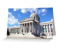 Missouri Capitol Building Greeting Card