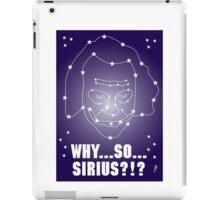 Why So Sirius Joker Card 2 iPad Case/Skin