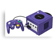 Gamecube console and controller Canvas Print