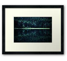 Divider Framed Print
