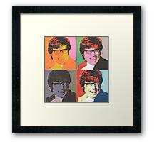 Austin Powers Pop Art Framed Print