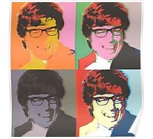 Austin Powers Pop Art Poster