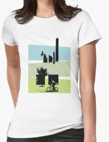 The Bike Ride Womens Fitted T-Shirt
