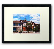 St-Martin-d'Oydes Framed Print