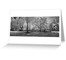 Boston Lagoon Infrared 2 Greeting Card