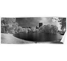 Boston Lagoon Infrared 4 Poster