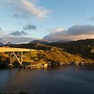 Kylesku Bridge by Michael Hadfield