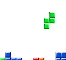 tetris by Sid3walk Art