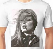 A Girl and Her Cigarette Unisex T-Shirt